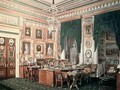 The Study of Alexander III 1845-94 at Gatchina Palace - Eduard Hau