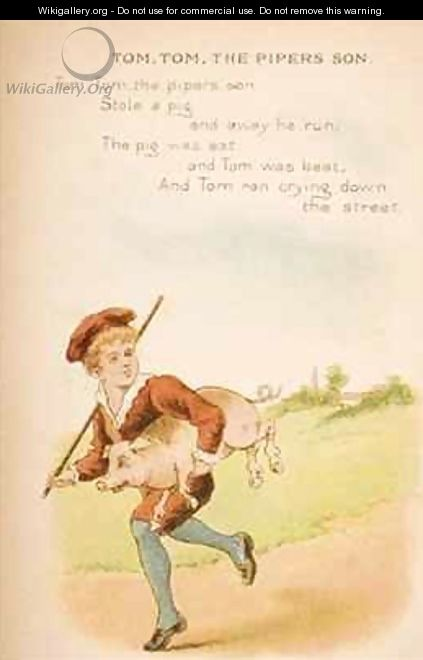 Tom Tom the Pipers Son - Constance Haslewood