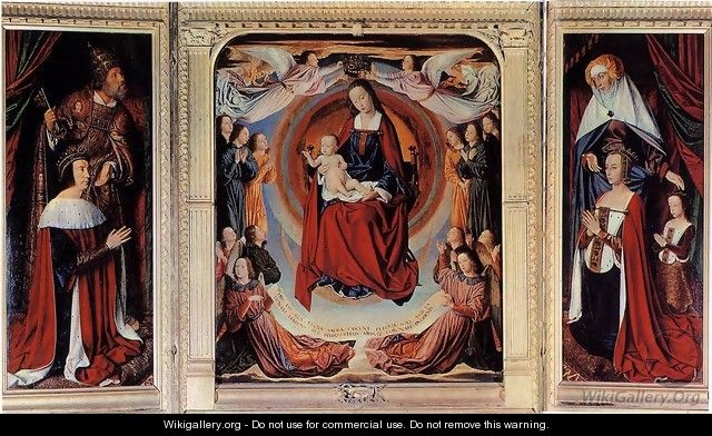 The Moulins Triptych - Unknown Painter