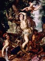 The Martyrdom of St Sebastian - Joachim Wtewael