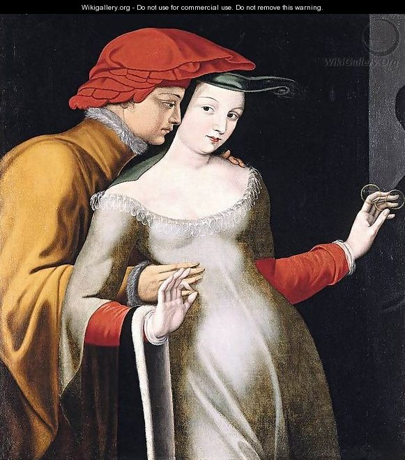 The Lovers - Master of the Fontainebleau School