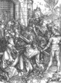 The Large Passion 5. Christ Bearing the Cross - Albrecht Durer