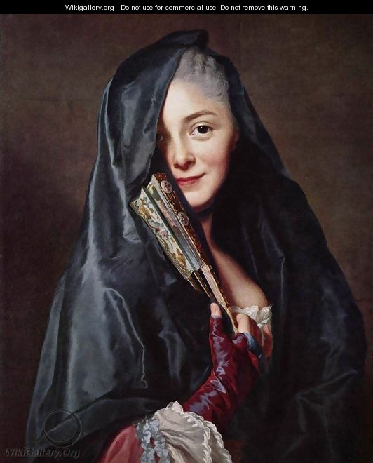 The Lady with the Veil (The Artist