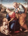 The Holy Family with a Lamb - Raffaelo Sanzio