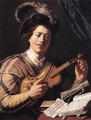 The Violin Player - Jan Lievens