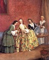 The Venetian Lady's Morning - Pietro Longhi