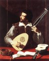 The Theorbo Player - Antiveduto Gramatica