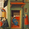 The Story of St Nicholas Giving Dowry to Three Poor Girls - Fra (Guido di Pietro) Angelico
