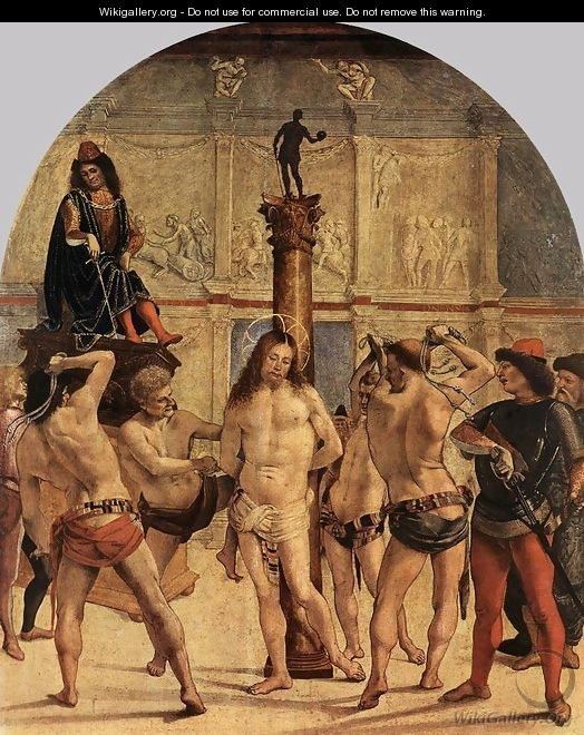 The Scourging of Christ - Luca Signorelli