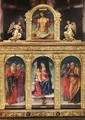 Virgin Enthroned with the Child on her Knee (polyptych) - Bartolomeo Vivarini
