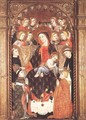 Virgin and Child with Angels and Saints - Unknown Painter