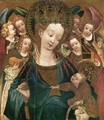 Virgin and Child with Angels - German Unknown Master