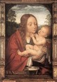 Virgin and Child in a Landscape - Workshop of Quentin Massys