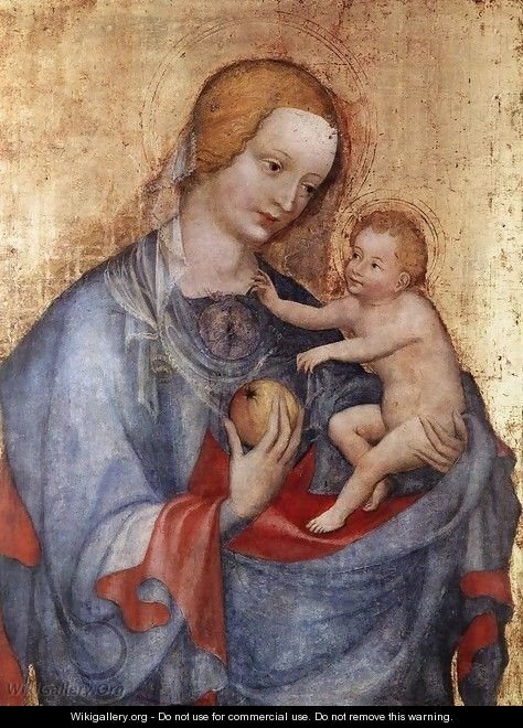 Virgin and Child - German Unknown Master