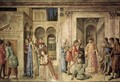 Scenes on the north wall - Fra (Guido di Pietro) Angelico