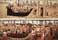 Scenes from the 'Small Ursula Cycle' - German Unknown Master