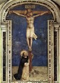Saint Dominic Adoring the Crucifixion - Fra (Guido di Pietro) Angelico