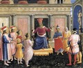 Saint Cosmas and Saint Damian before Lisius - Fra (Guido di Pietro) Angelico