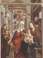 Saint Anne with the Virgin and the Child - Unknown Painter