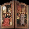 St Anne Altarpiece (closed) - Workshop of Quentin Massys