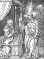 Small Passion 30. Christ Appears to His Mother - Albrecht Durer