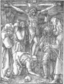 Small Passion 24. Christ on the Cross - Albrecht Durer