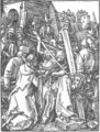 Small Passion 21. Christ Bearing the Cross - Albrecht Durer