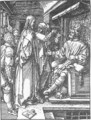 Small Passion 16. Christ before Herod - Albrecht Durer