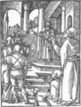 Small Passion 15. Christ before Pilate - Albrecht Durer