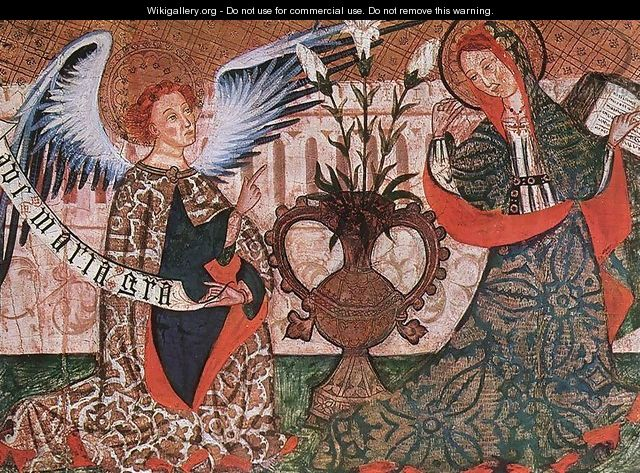 The Annunciation 2 - Unknown Painter