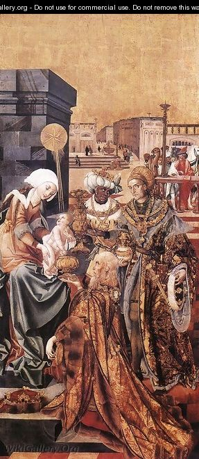 The Adoration of the Magi - Unknown Painter