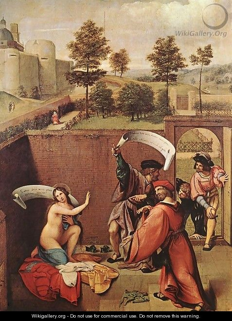 Susanna and the Elders - Lorenzo Lotto