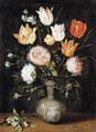 Still-Life of Flowers - Pieter The Younger Brueghel
