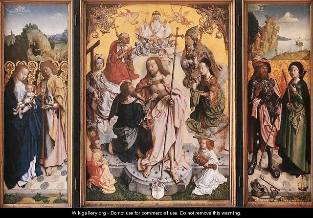 St Thomas Altarpiece - Unknown Painter