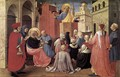 St Peter Preaching in the Presence of St Mark - Fra (Guido di Pietro) Angelico