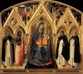 St Peter Martyr Altarpiece - Fra (Guido di Pietro) Angelico