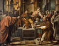 St Paul before the Proconsul - Raffaelo Sanzio