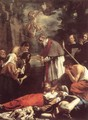 St Macarius of Ghent Giving Aid to the Plague Victims - Jacob van, the Younger Oost