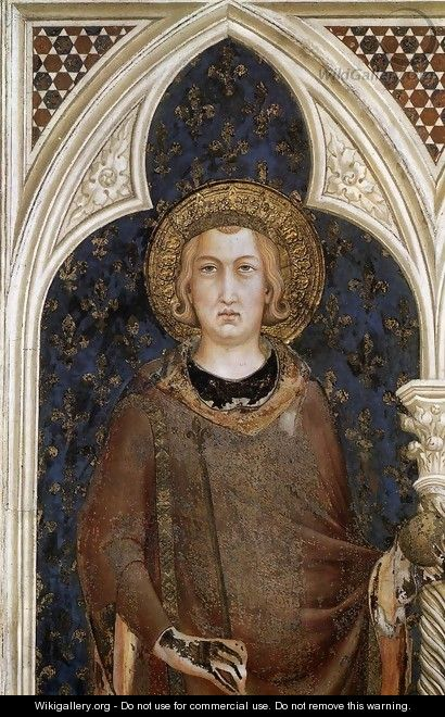 St Louis of France - Simone Martini