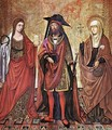 St Lazarus between Martha and Mary - Unknown Painter