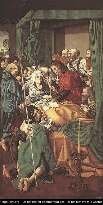 The Death of the Virgin - Unknown Painter
