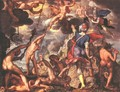 The Battle Between the Gods and the Titans - Joachim Wtewael