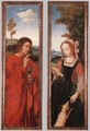 John the Baptist and St Agnes - Workshop of Quentin Massys