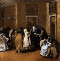 Il Ridotto (The Foyer) - Francesco Guardi