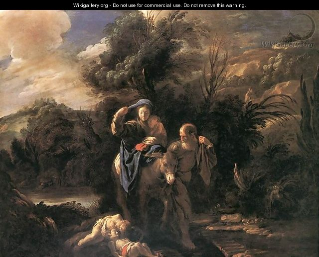 Flight to Egypt - Domenico Feti