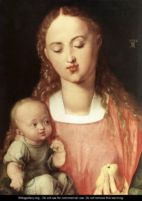 Madonna and Child with the Pear - Albrecht Durer
