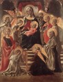 Madonna and Child Enthroned with Saints - Fra Filippo Lippi