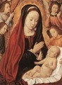 Madonna and Child Adored by Angels - Unknown Painter