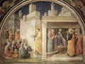 Lunette of the north wall - Fra (Guido di Pietro) Angelico