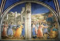 Lunette of the east wall - Fra (Guido di Pietro) Angelico